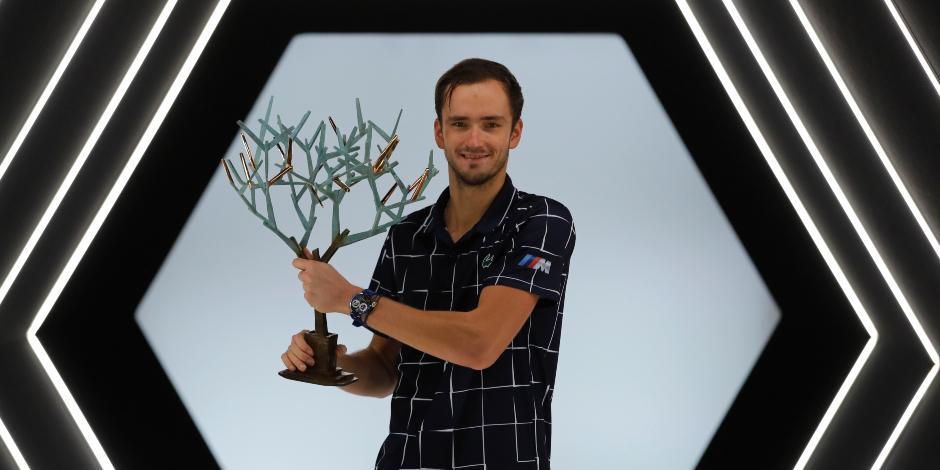 Tenis: Medvedev derrota a Zverev en París y consigue su tercer Masters 1000