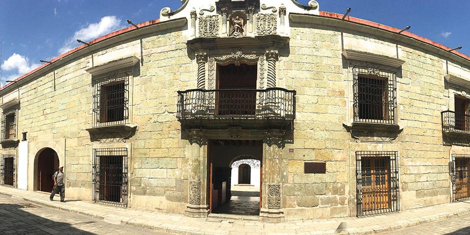 vista del Museo  de Arte Contemporáneo de Oaxaca.