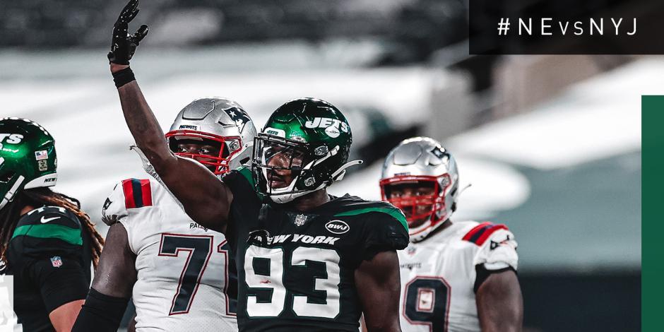 VIDEO_ Resumen del New England Patriots vs New York Jets, Semana 9 NFL