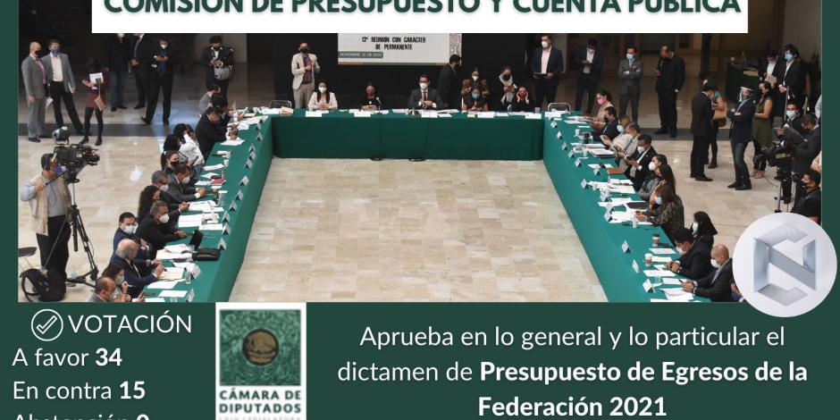Comisión de Presupuesto y Cuenta Pública