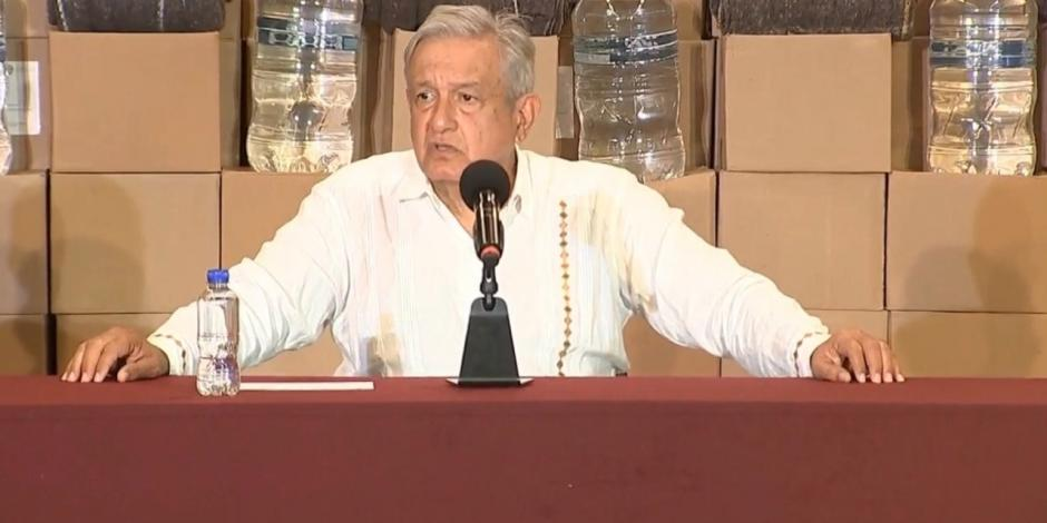 Presidente Andrés Manuel López Obrador en Tabasco