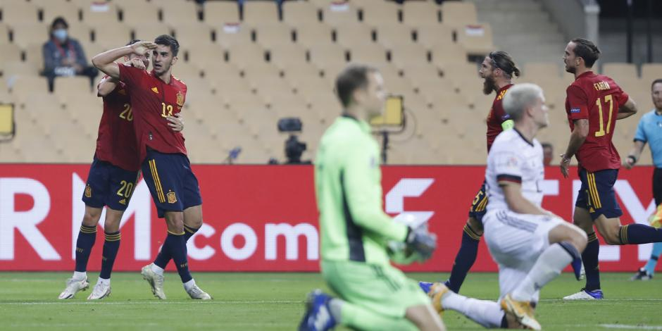 España 6-0 Alemania