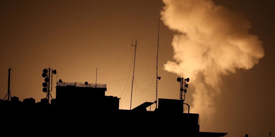 Israel-bombardea-instalaciones militares-Hamás