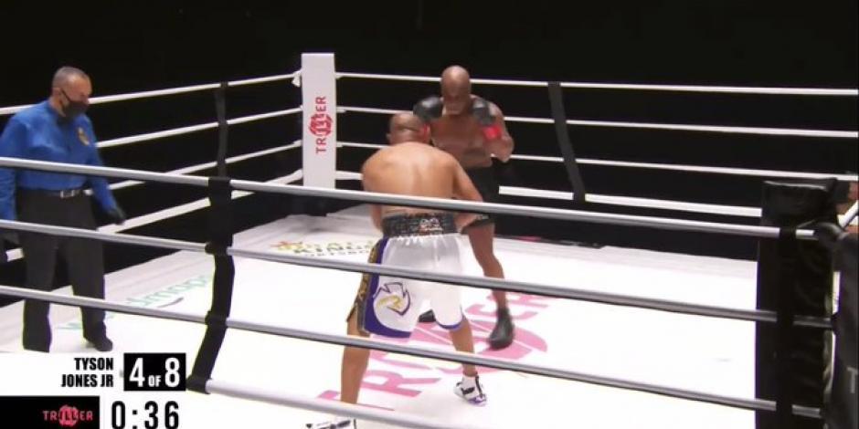Video: Tyson vs Roy Jones