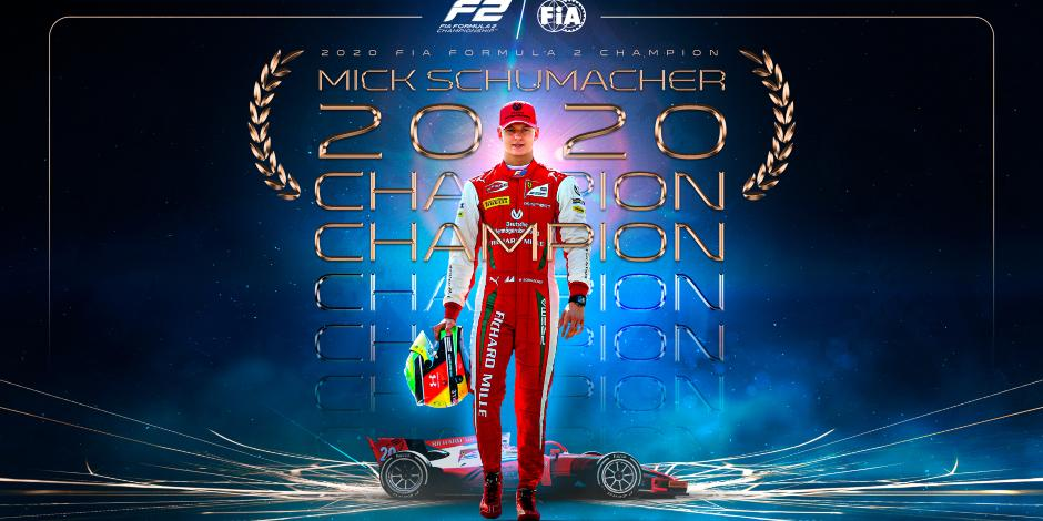 Fórmula 1: Mick Schumacher se corona en la F2 previo a dar el salto a F1
