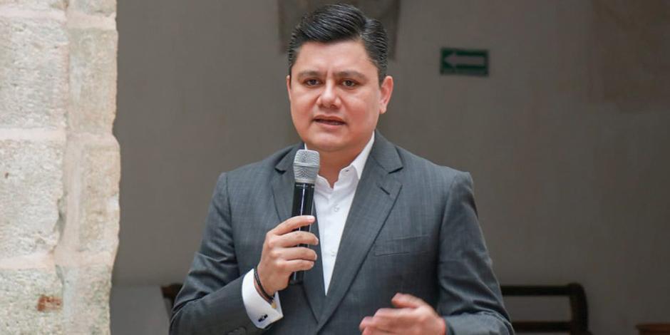 El secretario Juan Carlos Rivera, presidente de la Asetur, en una imagen de archivo.