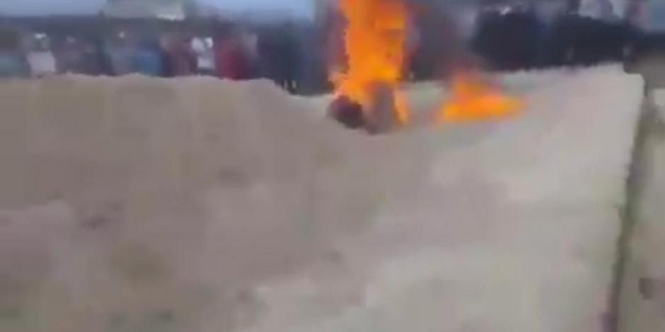 queman vivos