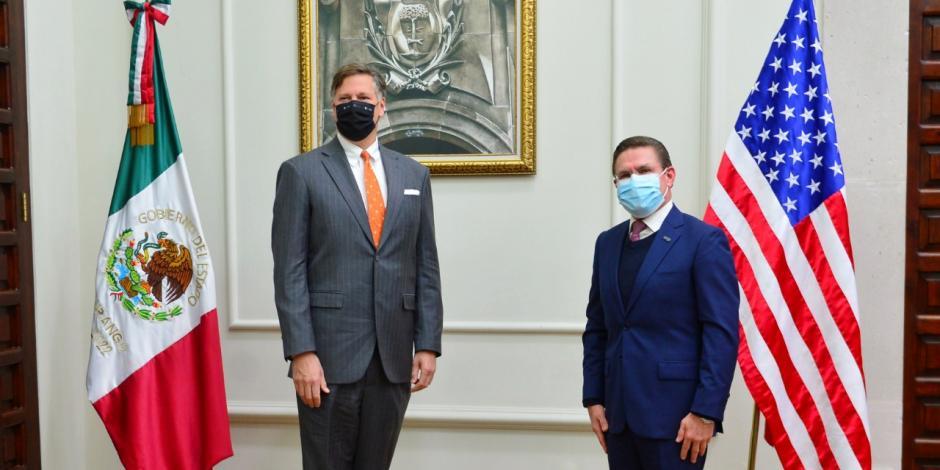 Gobernador Aispuro y Embajador