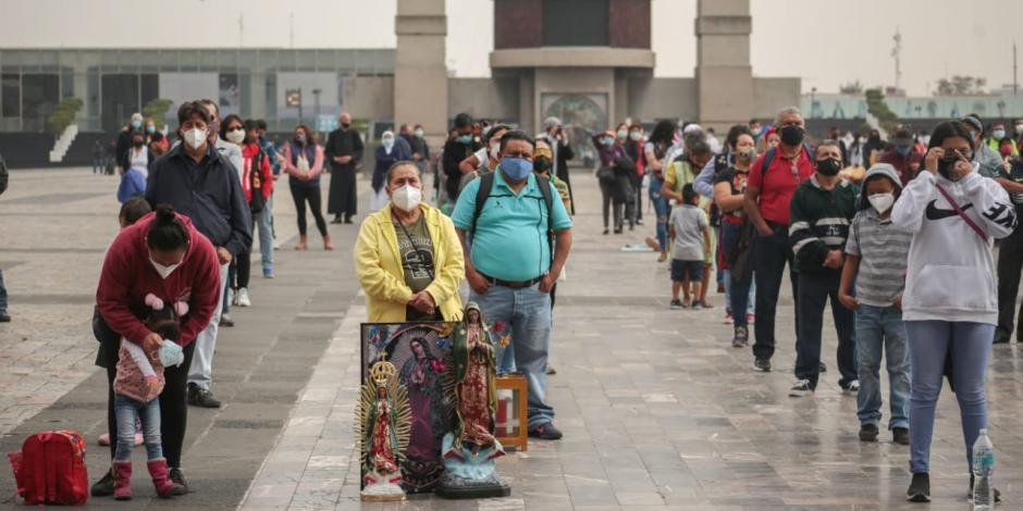 Basílica de Guadalupe diciembre 2020
