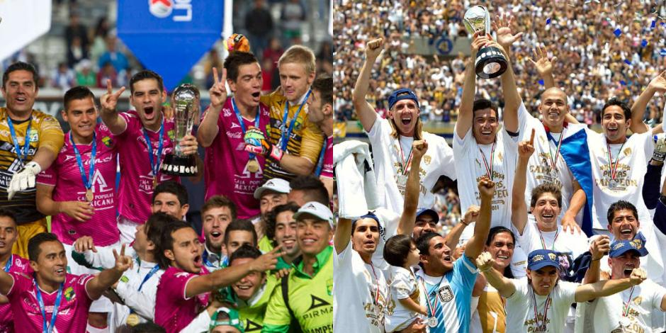 León-Pumas campeones