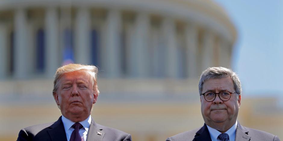 Trump y William Barr