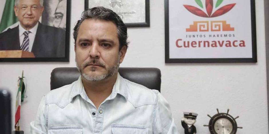 Alcalde Cuernavaca oficina