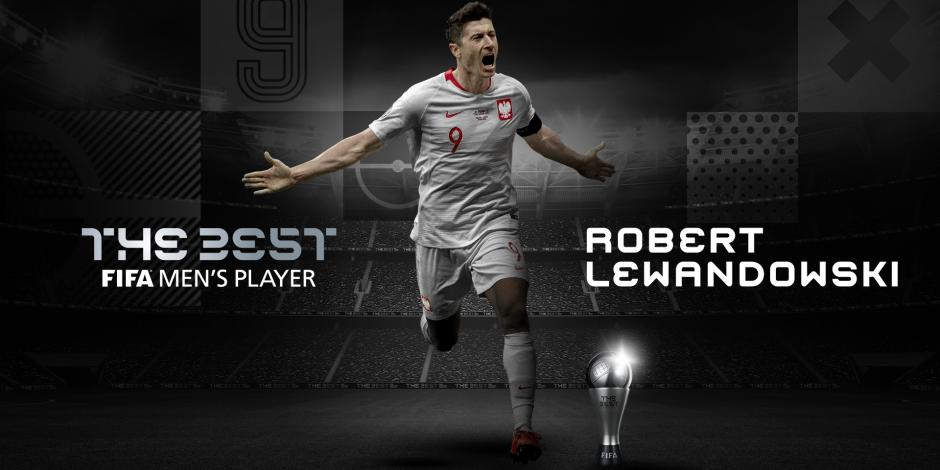 Robert Lewandowski se lleva el Premio The Best de la FIFA