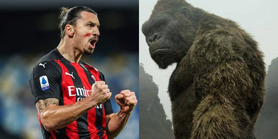 Zlatan Ibrahimovic y King Kong