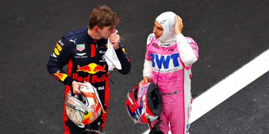 Verstappen y Pérez