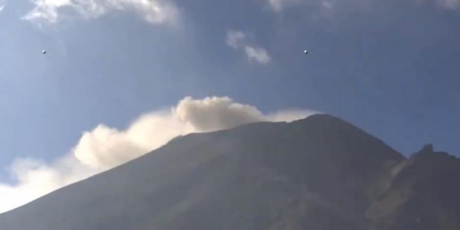 Volcan Popocatépetl.