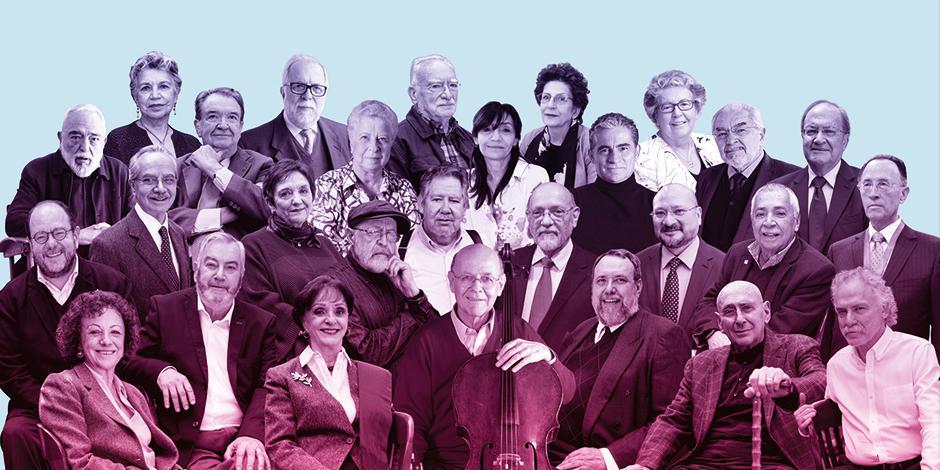 los miembros titulares del Seminario de Cultura Mexicana, en una foto de archivo.