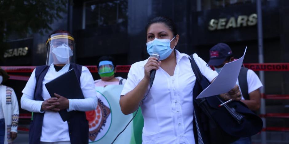 Personal de enfermería exige insumos médicos