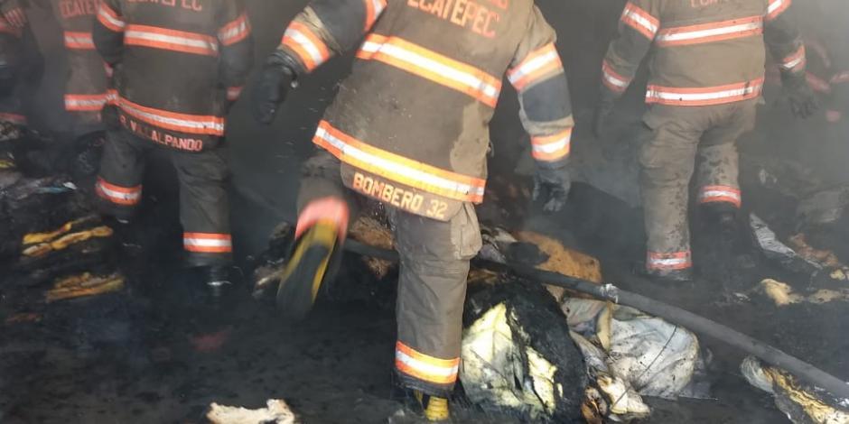 Incendio Ecatepec