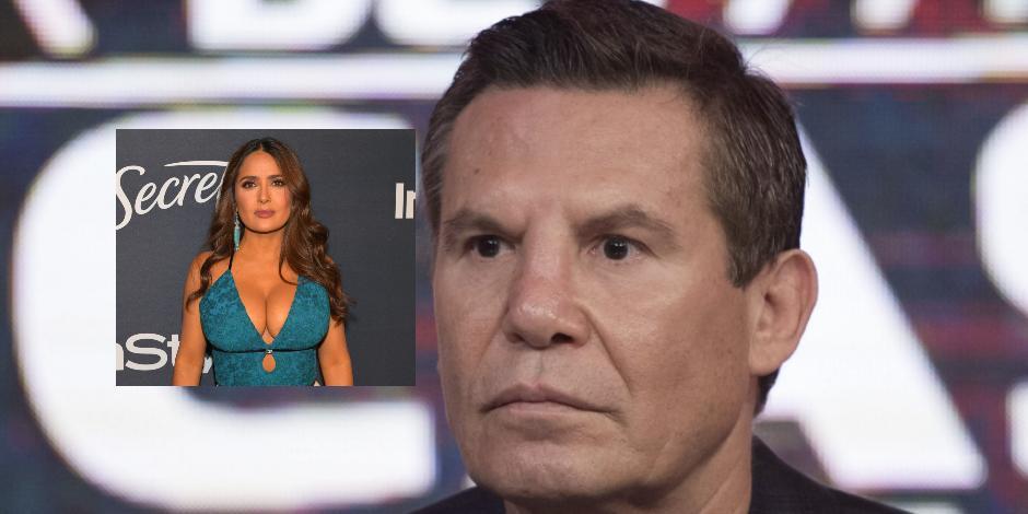 BOX: Julio César Chávez revela atrevida foto junto a Salma Hayek... ¿Fueron novios?