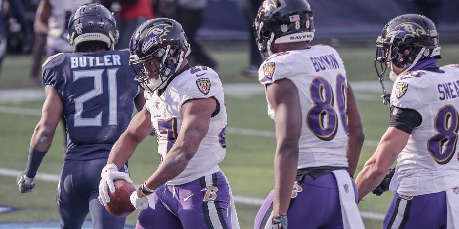 VIDEO_ Resumen del Baltimore Ravens vs Tennessee Titans, Playoffs de la NFL