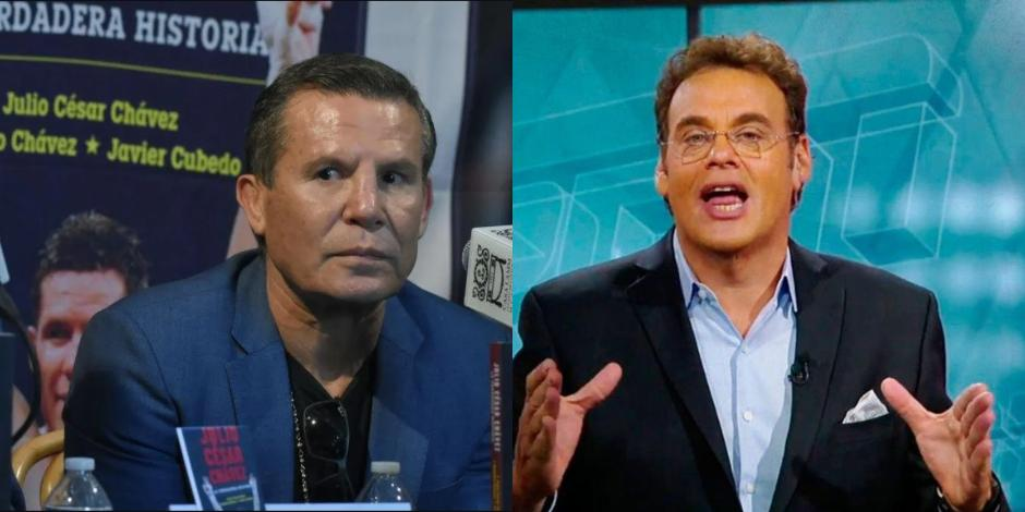 Julio César Chávez y David Faitelson