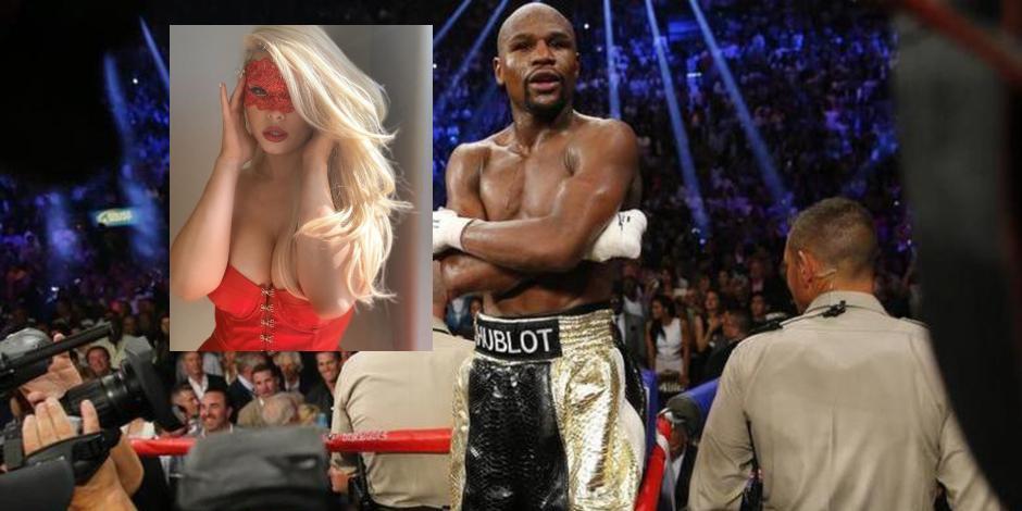 BOX: Floyd Mayweather y la stripper Anna Monroe anuncian su picante relación (FOTOS)