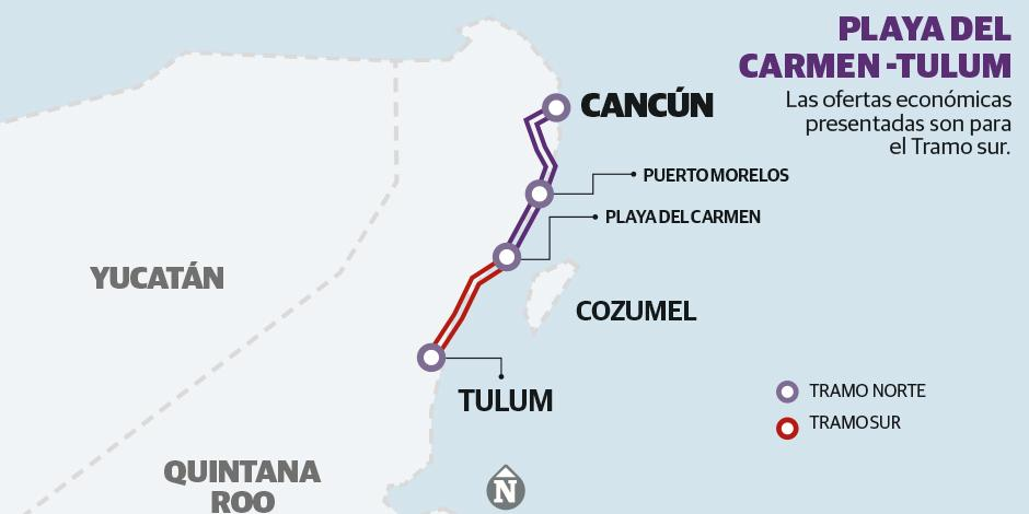 Tramo sur del Tren Maya
