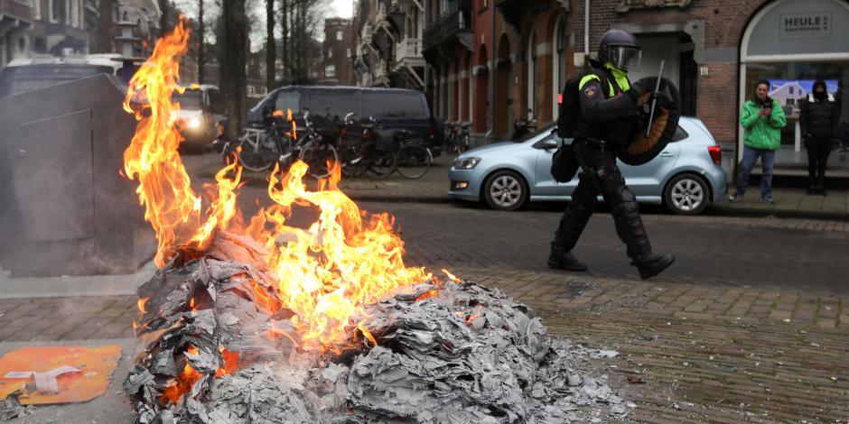 Amsterdam-Manifestantes