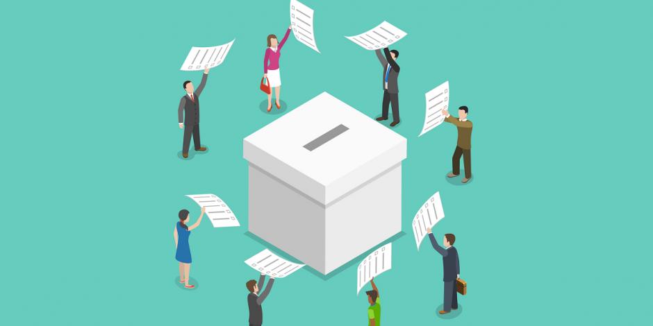 Foto ilustrativa del proceso electoral.
