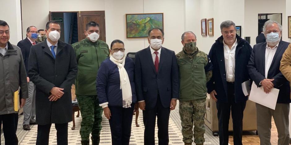 Reconocen al gobernador Astudillo y a Mesa para la Construcción de la Paz por baja incidencia delictiva en Guerrero