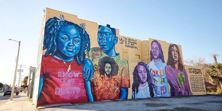 Mural Colin Kaepernick