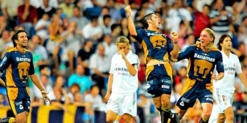Pumas-Real Madrid
