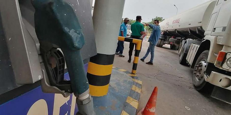 Foto ilustrativa de maquina de recarga de gasolina.