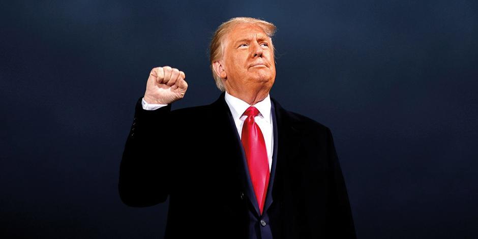 El magnate durante un evento de campaña en Iowa, en octubre pasado.