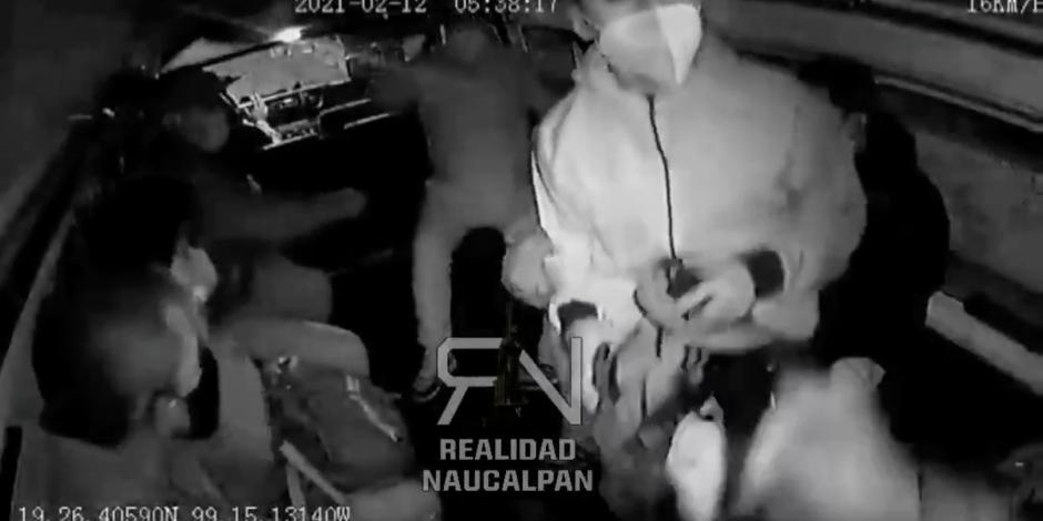 asalto Naucalpan