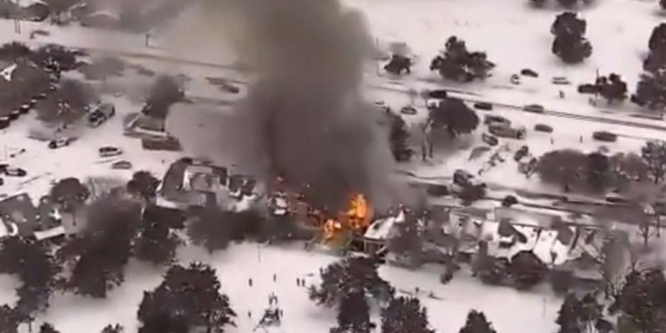 Texas, dallas, incendio