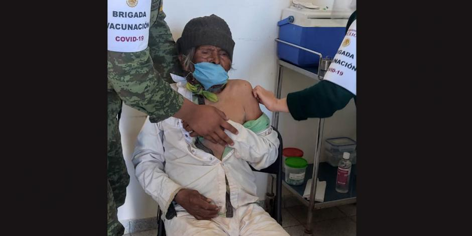hombre 118 años, vacuna antiCovid