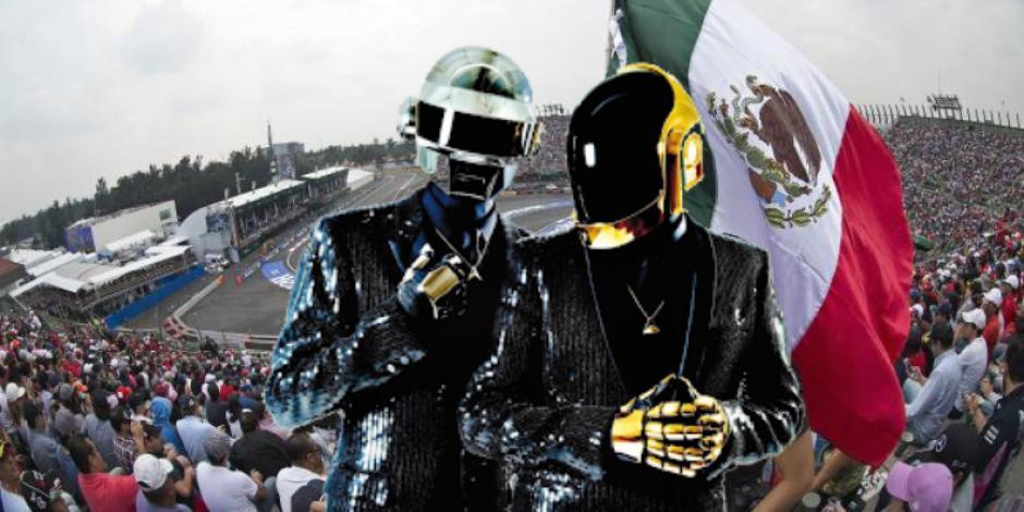 Fórmula 1: Daft Punk arruina la F1esta del Gran Premio de la Ciudad México