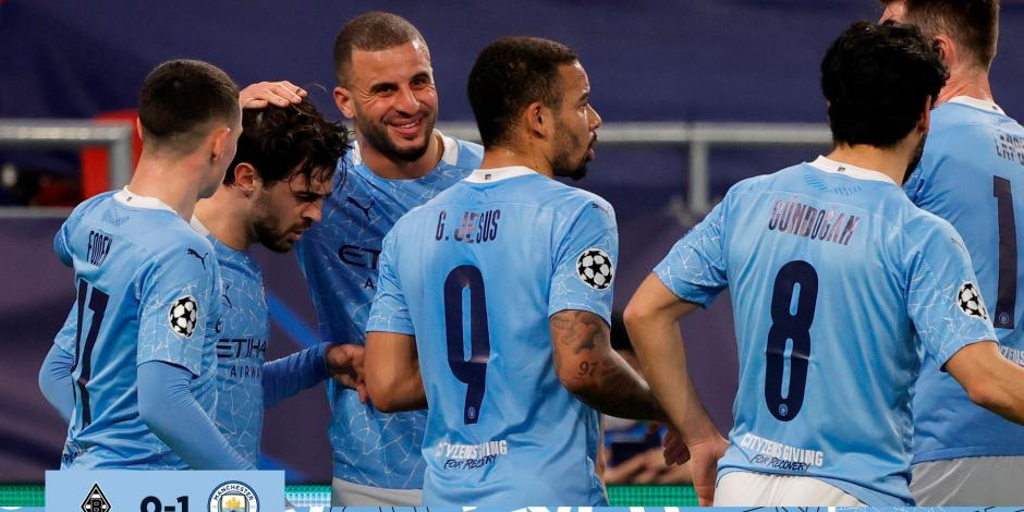 VIDEO: Resumen del Mönchengladbach vs Manchester City, Champions League