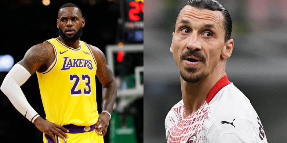 ¡Hay tiro! Zlatan Ibrahimovic y LeBron James se dan con todo en dura discusión