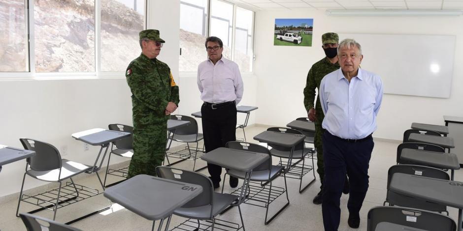 AMLO aplaude a la Guardia Nacional