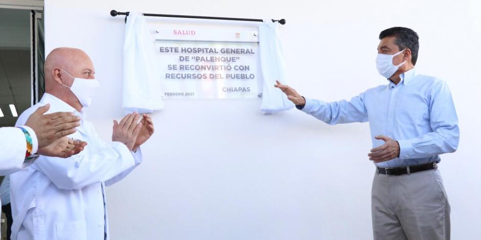 Chiapas construye hospitales