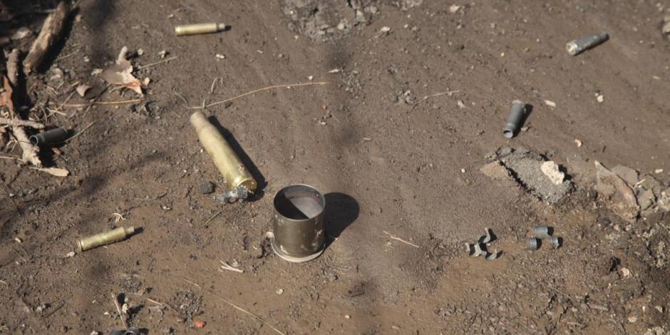 Enfrentamiento entre presuntos sicarios que abandonaban un cadáver y ministeriales dejó dos muertos en Michoacán