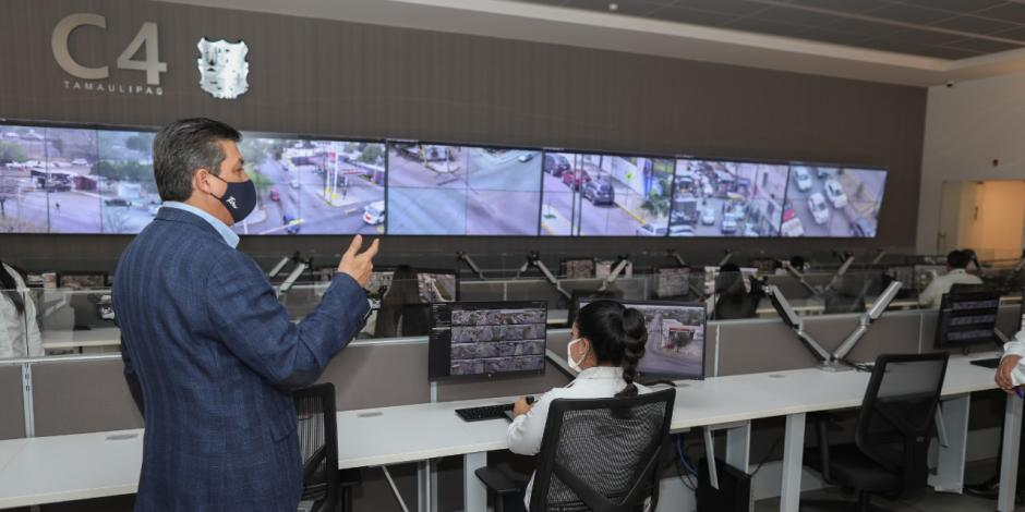 Gobernador Francisco Cabeza de Vaca reforzó videovigilancia