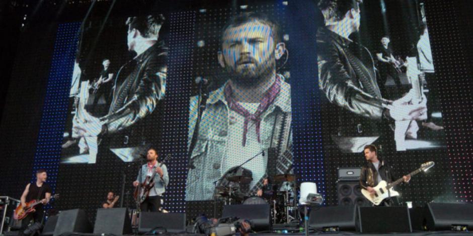 Kings of Leon en un show en vivo