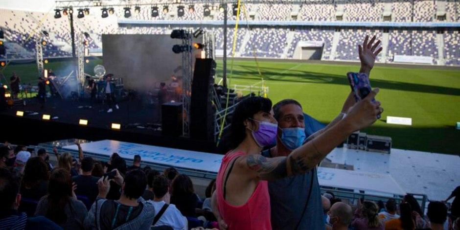 israel-vacunado-covid-19-concierto