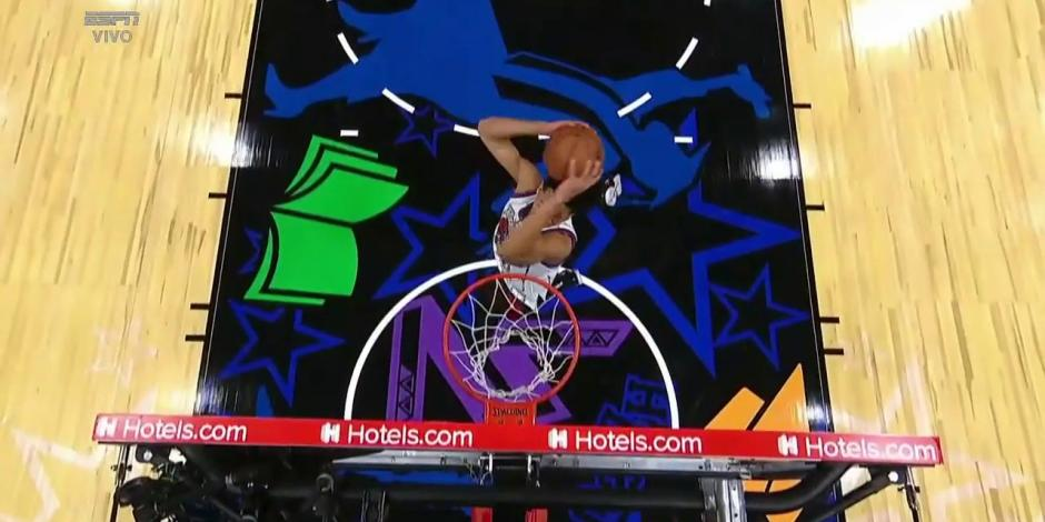 VIDEO: ¡Bestial! Resumen del concurso de clavadas del NBA All-Star Game 2021