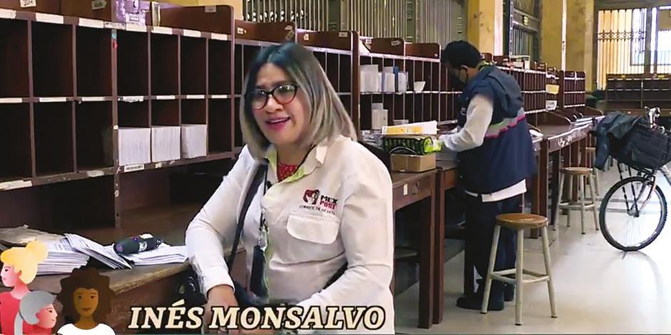 Una trabajadora de Correos de México cuenta su experiencia en el oficio.
