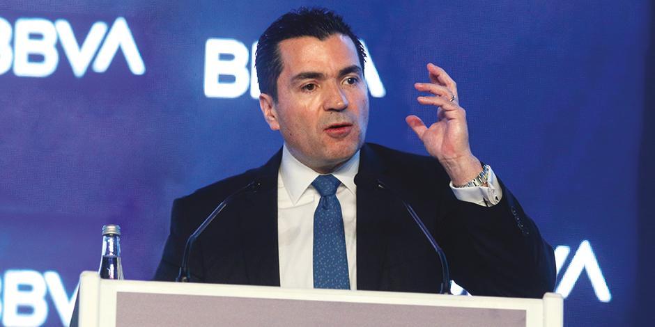 Eduardo Osuna, director general de BBVA México, en una imagen de archivo.